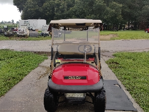 Red club car